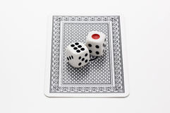 Dice and Trump Stock Photos