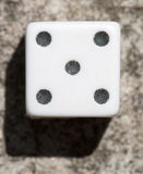 Dice Up Close Royalty Free Stock Photography