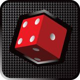 Dice Web Icon Stock Photo