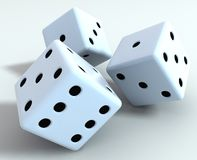 Dice were Stock Photography