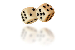 Free Dice With Reflection Stock Photos - 55031673