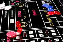 dice3 roll Zdjęcie Stock