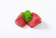 Diced beef Royalty Free Stock Photography