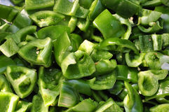Diced capsicum Royalty Free Stock Photo