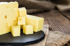 Diced Cheese Royalty Free Stock Photo