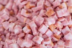 Diced ham Stock Photos