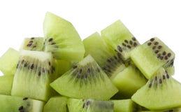 Diced kiwifruit Royalty Free Stock Photo