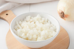 Diced onion Royalty Free Stock Photo