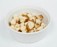 Diced Potatoes Stock Image