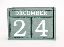 24 dicembre Fotografie Stock Libere da Diritti