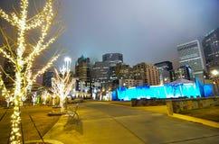 27 dicembre 2014, Charlotte, nc, orizzonte degli S.U.A. - Charlotte vicino alla r Fotografia Stock