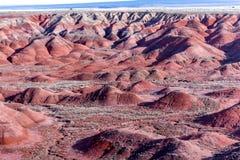 21 dicembre 2014 - foresta petrificata, AZ, U.S.A. Immagini Stock