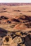 21 dicembre 2014 - foresta petrificata, AZ, U.S.A. Fotografia Stock
