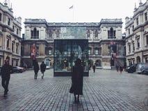 Dicembre a Londra Immagini Stock