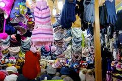 5 dicembre 2016: Mercato di Natale Fotografia Stock Libera da Diritti