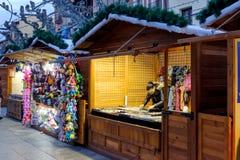 5 dicembre 2016: Mercato di Natale Immagine Stock