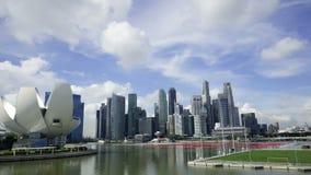 1° dicembre 2014, Singapore, Singapore: Lasso di tempo panoramico aggiornato del fiume di Singapore archivi video