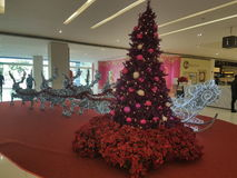 15 dicembre 2016 Subang Jaya Deco di Natale al complesso commerciale degli uomini del Da Immagine Stock
