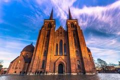 4 dicembre 2016: Vista frontale della cattedrale di St Luke i Immagini Stock Libere da Diritti