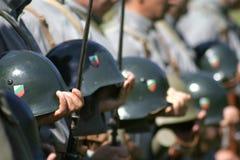 Dicer militare Fotografie Stock Libere da Diritti