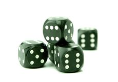 dices играть в азартные игры Стоковые Изображения