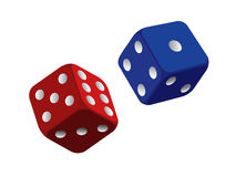 Dices royalty free illustration