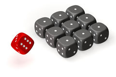 Dices Stock Photos