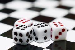 dices 4 играя Стоковые Изображения