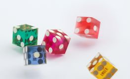 dices obraz royalty free