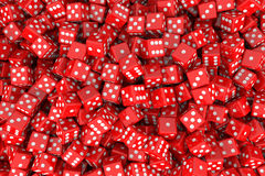 Dices Background Royalty Free Stock Photo