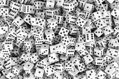 Dices Background Stock Image