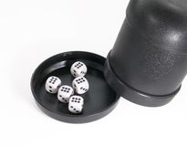 Dices from casino Stock Images