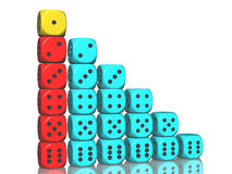 Dices concepts Stock Image