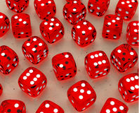 The dices Stock Photography