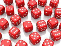 The dices Stock Photos