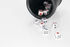 Dices From Casino Stock Image