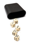 Dices game Royalty Free Stock Photography