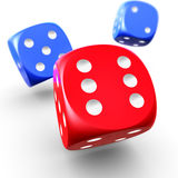 Dices Stock Photo