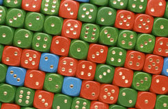 Dices. A lot of cubes, dices Royalty Free Stock Image