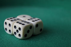 Dices stock photography