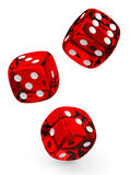 The dices Stock Images