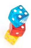 Dices together Royalty Free Stock Image