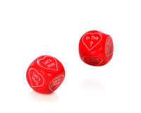 Dicey Romance Stock Photography