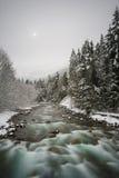 Dicha de la cascada Fotografía de archivo libre de regalías