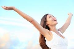 Dicha de la felicidad Imagen de archivo libre de regalías