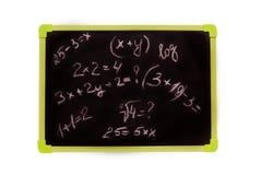 Dichiarazione di amore, l'iscrizione sulla lavagna Immagine Stock