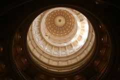 Dichiari Campidoglio che costruisce a Austin del centro, il Texas Fotografia Stock Libera da Diritti