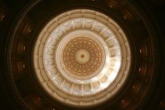 Dichiari Campidoglio che costruisce a Austin del centro, il Texas Fotografie Stock Libere da Diritti