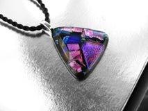 dichroic glass hänge Royaltyfria Bilder
