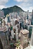 Dicht bevölkertes Hong Kong 2 Stockfotografie